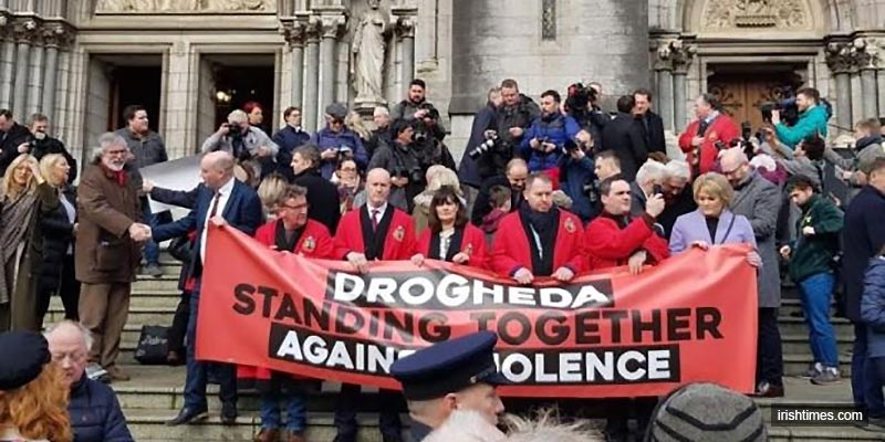 Thousands march to take back control from drug gangs