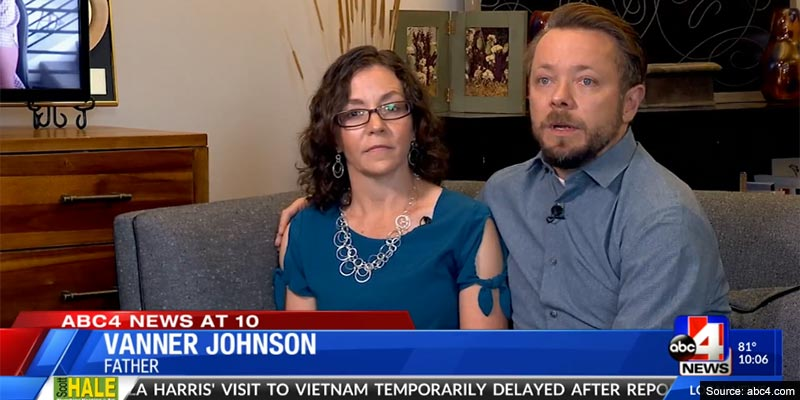 Couple who took DNA test 'for fun' shocked to discover husband is not son's biological dad
